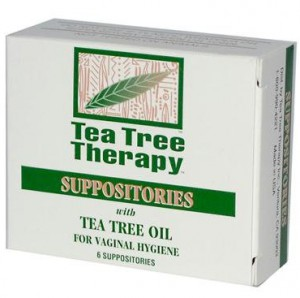Tea Tree Suppositories for Yeast Infection