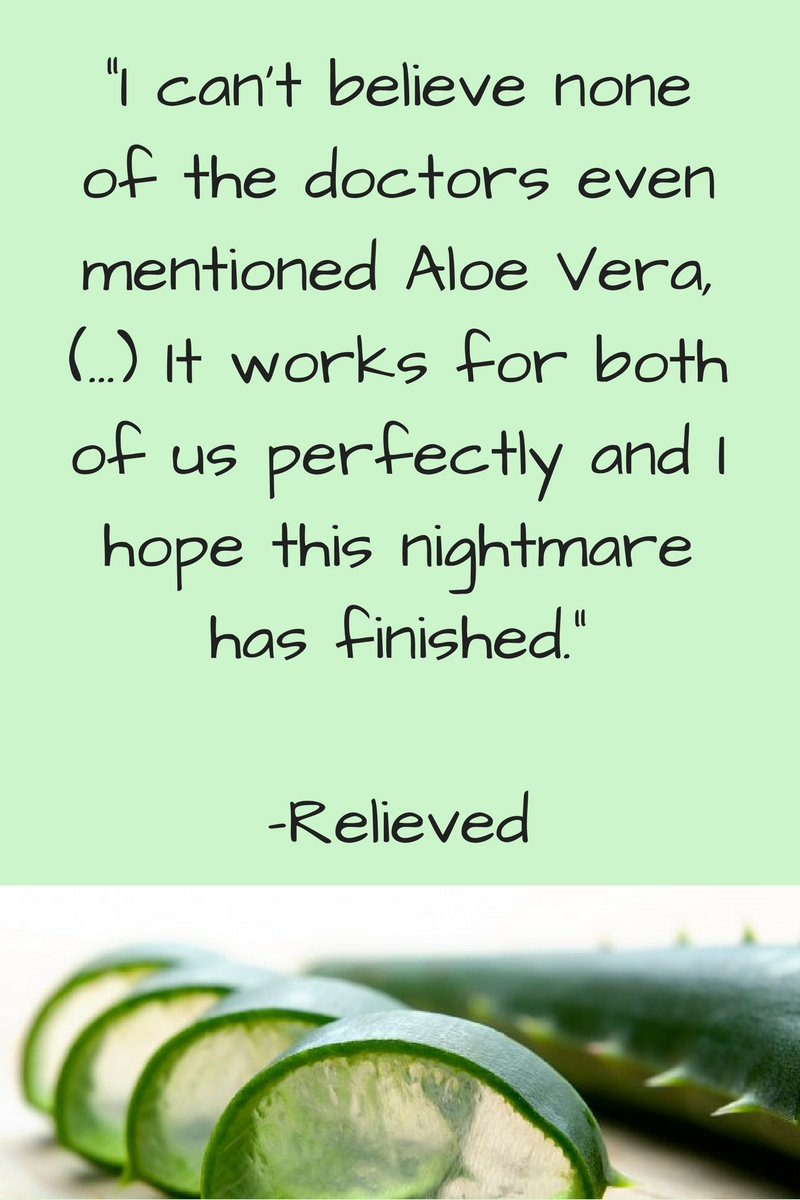 Does aloe vera cure yeast infections