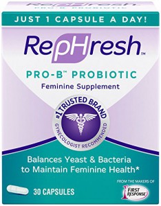 RepHresh Pro-B Probiotic Feminine Supplement Review