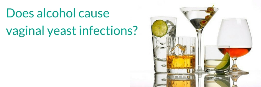 Does alcohol cause vaginal yeast infections- (1)