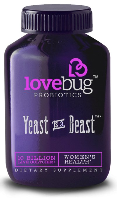 Lovebug Probiotics Yeast Is A Beast Review Beat Candida