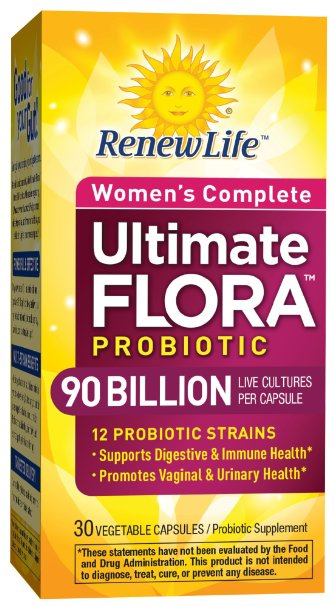 Renew life ultimate flora women's complete review