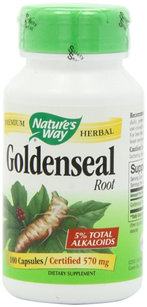 Use goldenseal for yeast infection