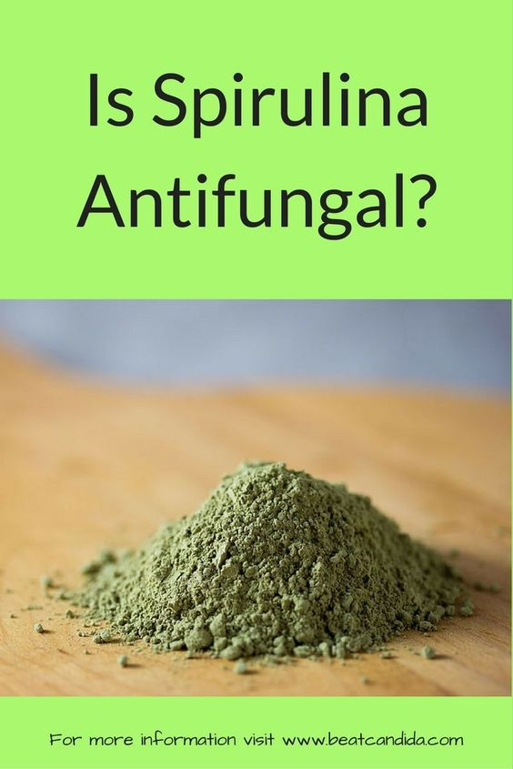 is spirulina antifungal
