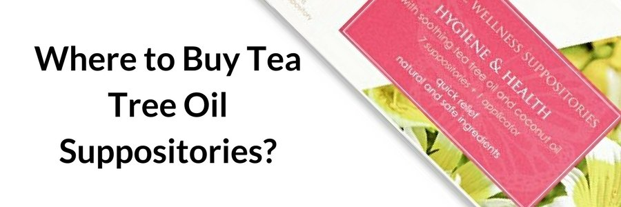 Where to buy tea tree oil suppositories
