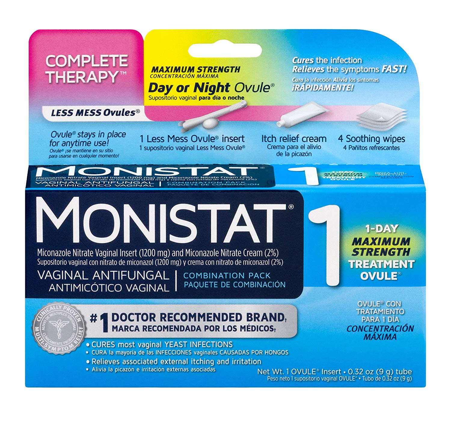 Which Monistat Works Best For Yeast Infection?